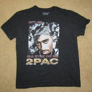 2pac Brand Shirt XL All Eyez On Me Black Street